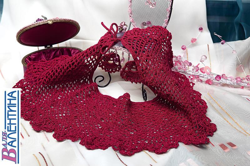 вязание летних сумок крючком